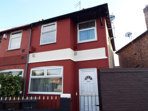 Thumbnail End terrace house for sale in Muspratt Road, Seaforth, Liverpool, Merseyside