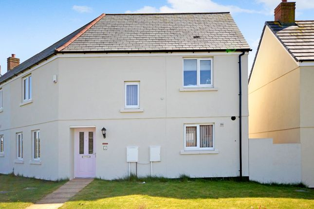 Thumbnail Semi-detached house for sale in Fulford Gardens, North Tawton
