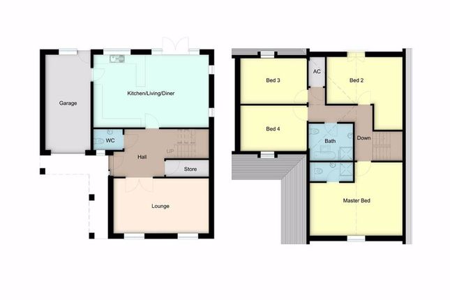 Detached bungalow for sale in Cwrt Dolwerdd, Boncath, Pembrokeshire