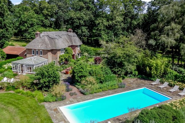 Thumbnail Detached house for sale in Linwood, Ringwood, Hampshire
