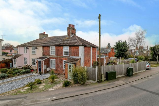 Thumbnail End terrace house for sale in Harwich Road, Mistley, Manningtree, Essex