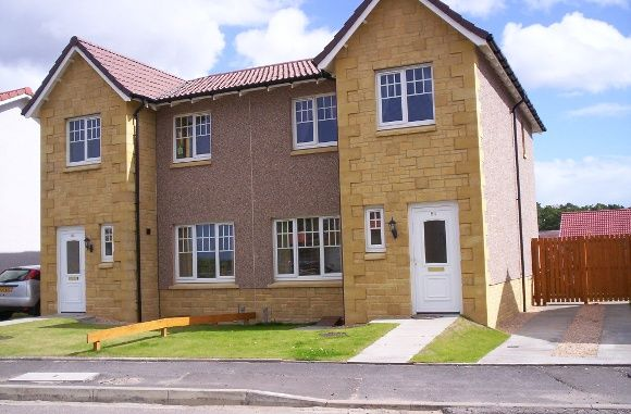 Thumbnail Semi-detached house to rent in Marleon Field, Silvercrest, Moray, Elgin