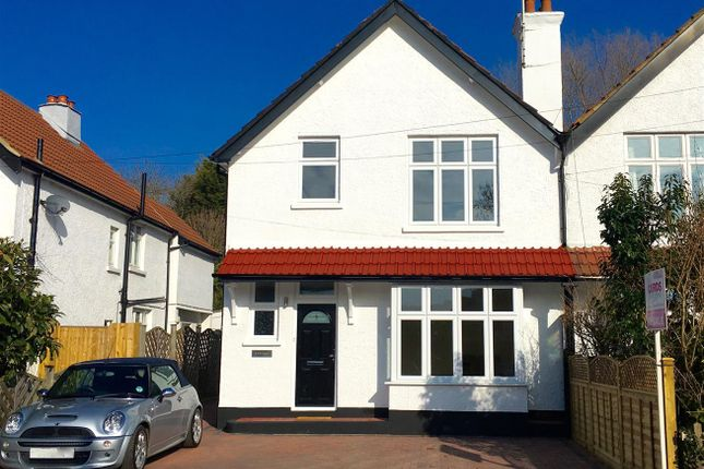 Thumbnail Semi-detached house for sale in Belmont Road, Leatherhead