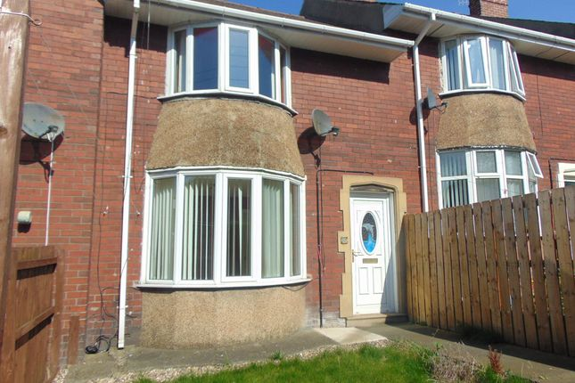 Thumbnail Terraced house to rent in North View, Blackhill, Consett