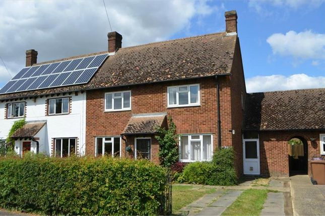 Thumbnail Semi-detached house for sale in Francis Road, Hinxworth, Baldock