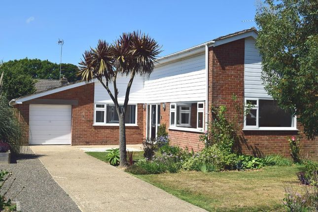 Thumbnail Detached bungalow for sale in Woodland Grove, Bembridge, Isle Of Wight