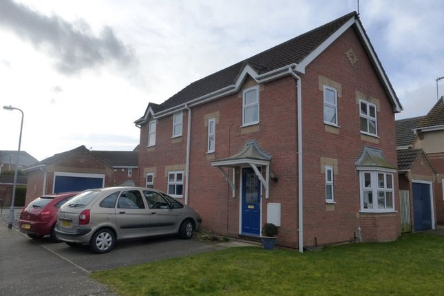 Thumbnail Detached house to rent in Mallard Court, North Hykeham, Lincoln