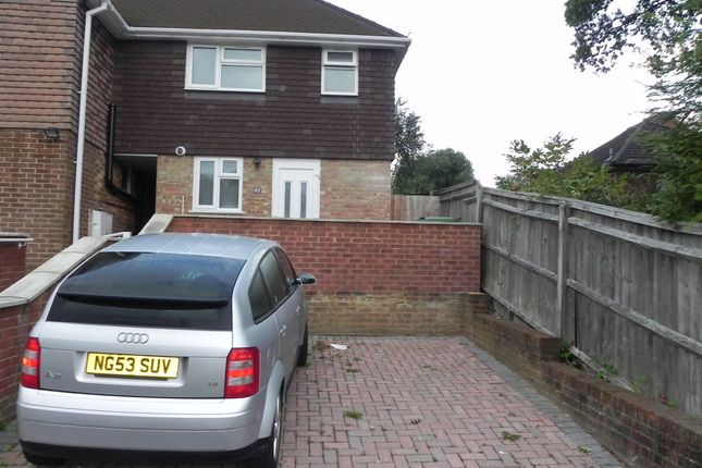Semi-detached house to rent in Woodside Road, Guildford, Surrey