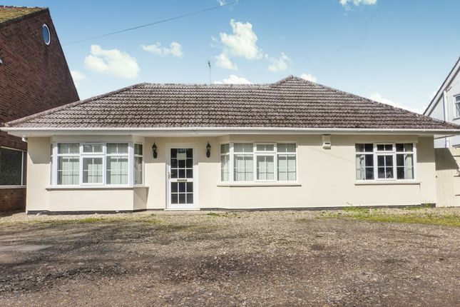 Thumbnail Detached bungalow for sale in Dereham Road, New Costessey, Norwich