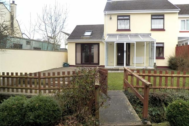 3 bed end terrace house for sale in Brookside Avenue, Johnston, Haverfordwest