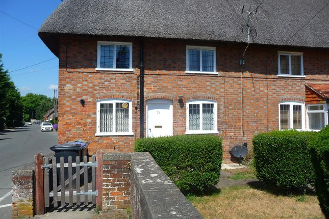 Thumbnail End terrace house to rent in High Street, Chilton Foliat, Hungerford