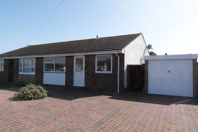 Thumbnail Semi-detached bungalow for sale in Merryfield Drive, Selsey, Chichester
