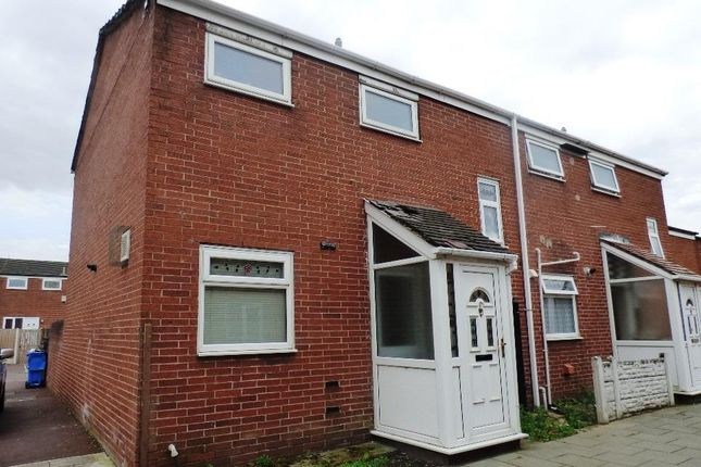 Thumbnail End terrace house for sale in Shotton Walk, Manchester