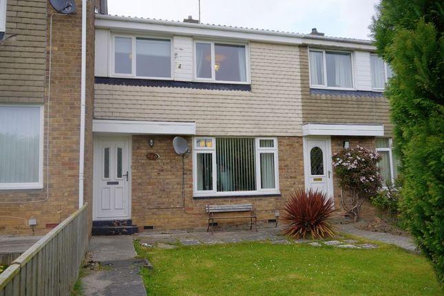 Thumbnail Terraced house for sale in Monkside, Cramlington