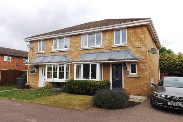 Thumbnail Property to rent in Bryony Close, Bedford