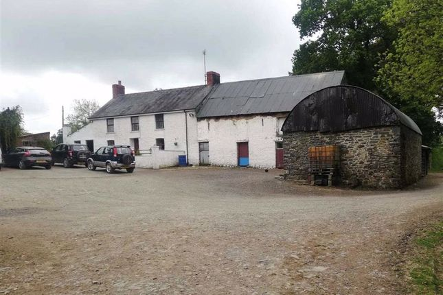 Thumbnail Farm for sale in Llanwnnen, Lampeter