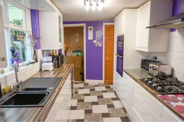 Thumbnail End terrace house for sale in Wellingborough Road, Finedon, Wellingborough