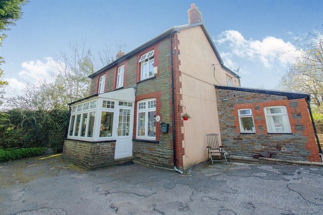 Thumbnail Detached house for sale in Haul Y Mynydd, Graigwen, Pontypridd