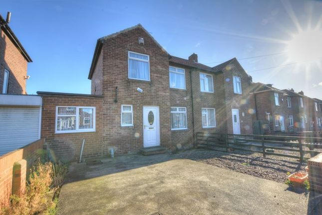 Thumbnail Semi-detached house for sale in Buteland Road, Denton Burn, Newcastle Upon Tyne