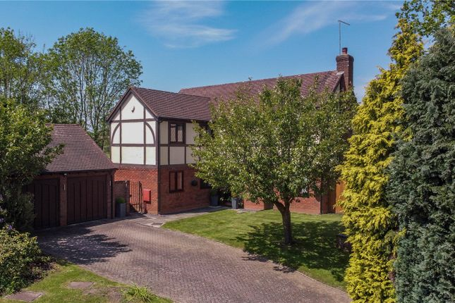Thumbnail Detached house for sale in Hither Green Lane Abbey Park, Redditch
