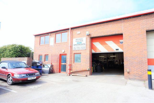 Thumbnail Parking/garage for sale in Unit 28 Tir Llwyd Industrial Estate, Rhyl