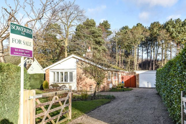 Thumbnail Detached bungalow for sale in Pineheath Road, High Kelling, Holt