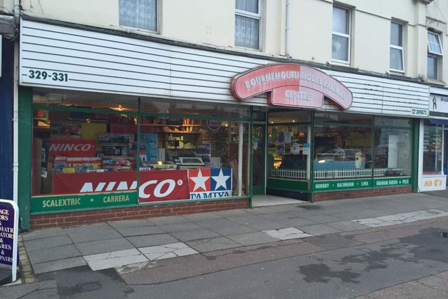 Thumbnail Commercial property to let in Model Railway Shop, Bournemouth