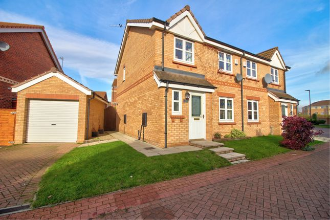 Thumbnail Semi-detached house for sale in Twigg Crescent, Armthorpe, Doncaster