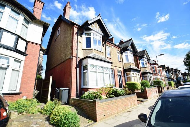 Thumbnail Semi-detached house for sale in Tennyson Road, Luton