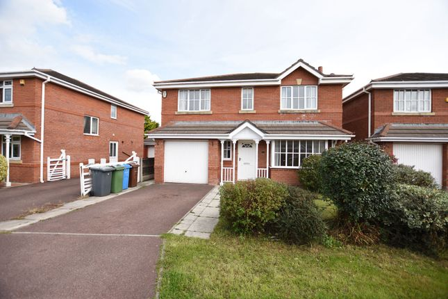 Thumbnail Detached house to rent in Orchard Close, Freckleton, Preston