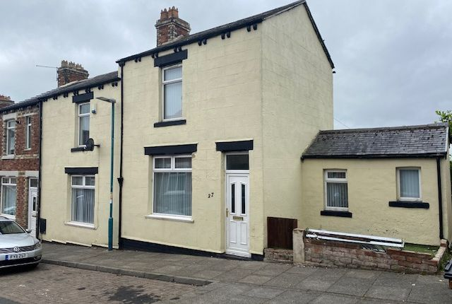 Thumbnail End terrace house for sale in Heslop Street, Bishop Auckland