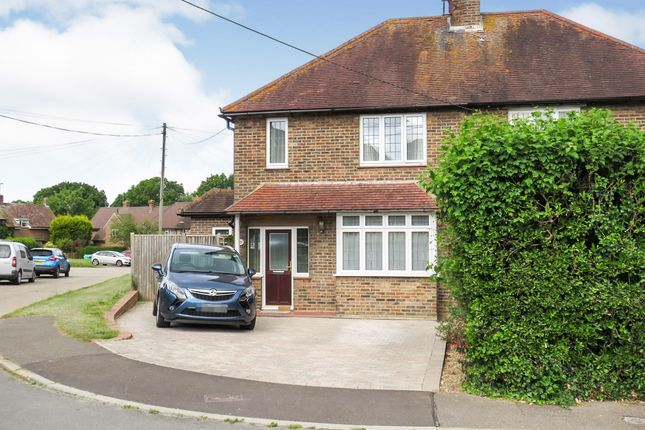 Semi-detached house for sale in Orchard Close, Scaynes Hill, Haywards Heath
