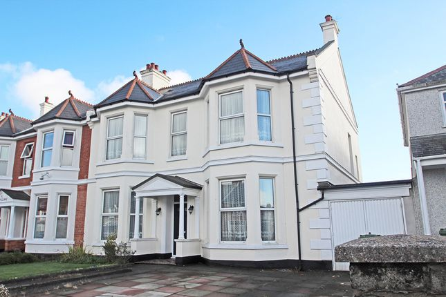 Thumbnail Semi-detached house for sale in Milehouse Road, Milehouse, Plymouth
