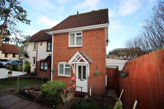Thumbnail End terrace house for sale in Heron Way, Torquay