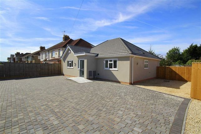 Thumbnail Detached bungalow for sale in Wanborough Road, Swindon, Wiltshire