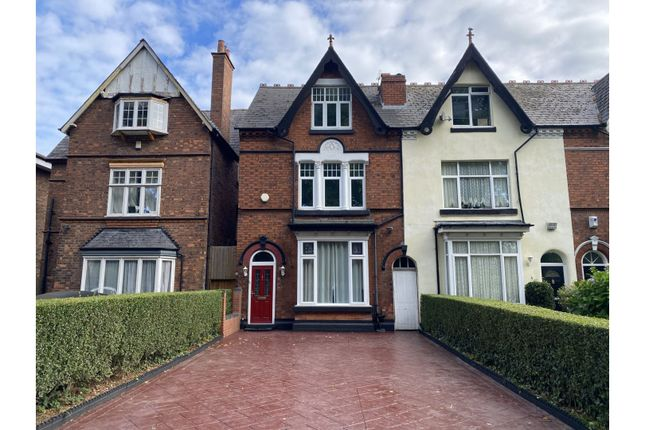 Thumbnail End terrace house for sale in Jaffray Road, Birmingham