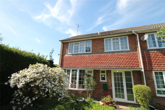 Thumbnail End terrace house to rent in Bartlett Road, Westerham
