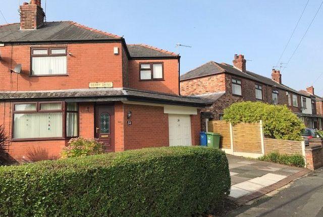 Thumbnail Semi-detached house for sale in Derby Drive, Bruche, Warrington