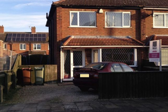 Thumbnail Semi-detached house to rent in Springway Crescent, Grimsby