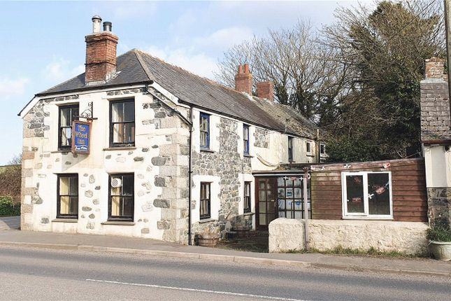 Detached house for sale in Cury Cross Lanes, Helston, Cornwall TR12