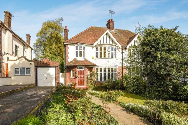 Thumbnail Semi-detached house for sale in Friern Barnet Lane, Friern Barnet