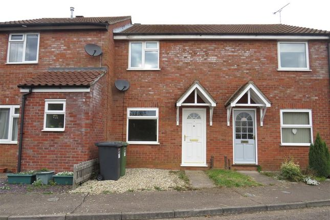 Thumbnail Terraced house for sale in Eckersley Drive, Fakenham