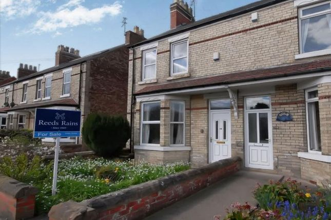 Thumbnail End terrace house for sale in York Road, Haxby, York