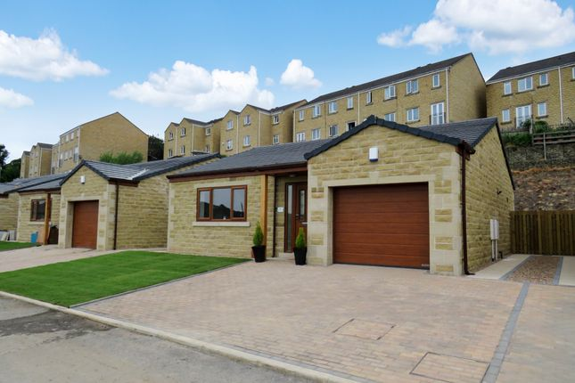 Thumbnail Detached bungalow for sale in Old Willow Close, Whitegate, Halifax