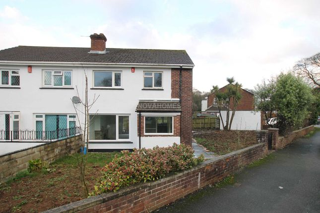 Thumbnail Semi-detached house for sale in St Erth Road, Pennycross