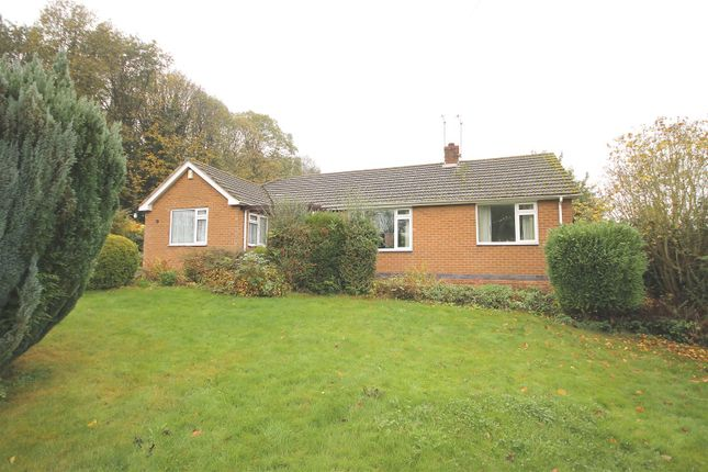 Thumbnail Detached bungalow for sale in Shakespeare Close, Old Tupton, Chesterfield