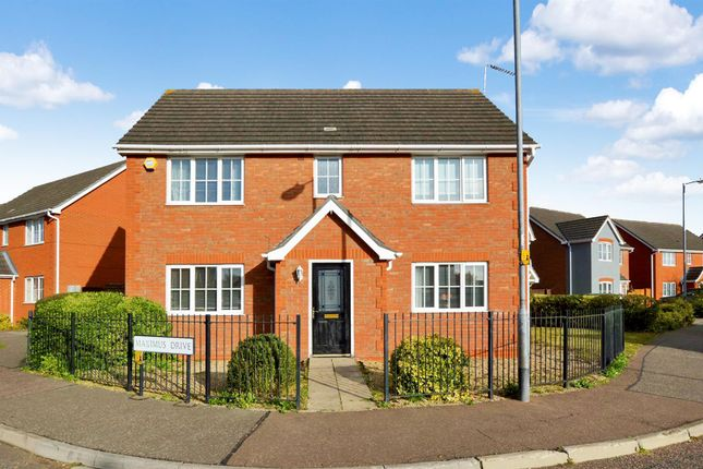 Thumbnail Detached house to rent in Gavin Way, Highwoods, Colchester