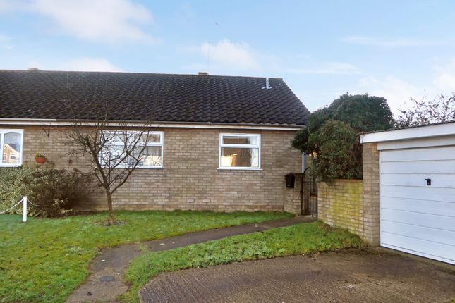 Thumbnail Semi-detached bungalow for sale in 9 Links Close, Thurlton, Norwich