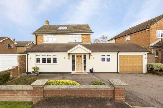 Thumbnail Detached house for sale in Landview Gardens, Ongar, Essex