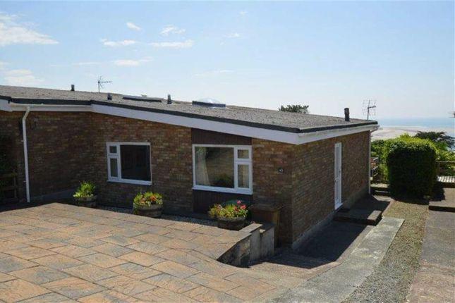 Thumbnail Semi-detached bungalow for sale in 43, Mynydd Isaf, Aberdyfi, Gwynedd